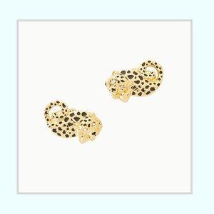 Lilly Pulitzer Leopard Stud Earrings
